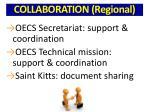collaboration regional