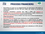 proceso financiero