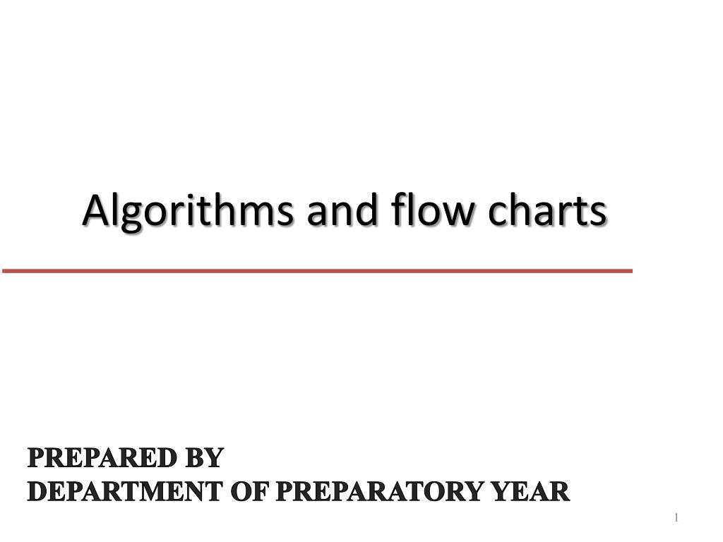 algorithms and flow charts l.