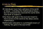 a link to plato