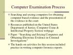 computer examination process