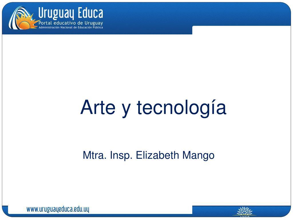 arte y tecnolog a l.