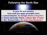 following the north star49