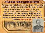 founding fathers daniel payne43