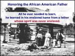 honoring the african american father26