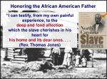 honoring the african american father27