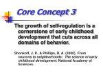 core concept 3