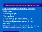 skipshospitalet p cruise skip design lay out26
