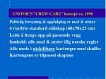 unitor s crew care konsept ca 1990