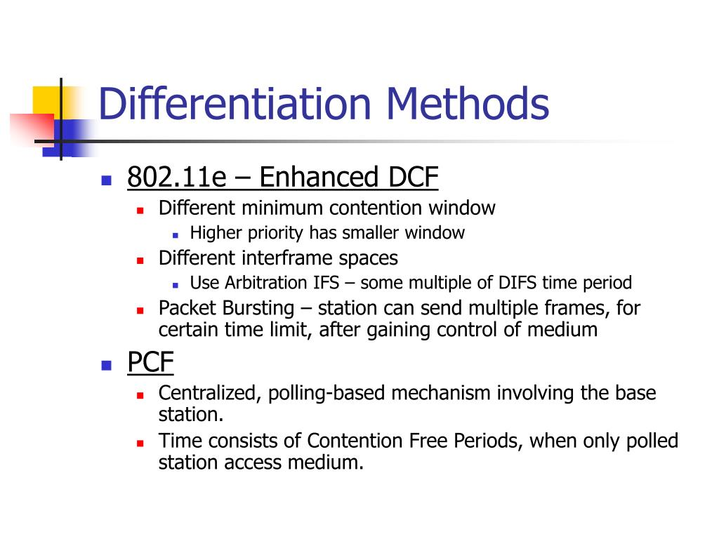 Differentiation Methods
