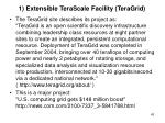 1 extensible terascale facility teragrid