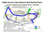 esnet science data network nlr related plans