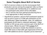 some thoughts about nlr l2 service