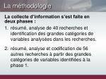 la m thodologie1