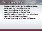 recommandations4