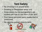 tent safety