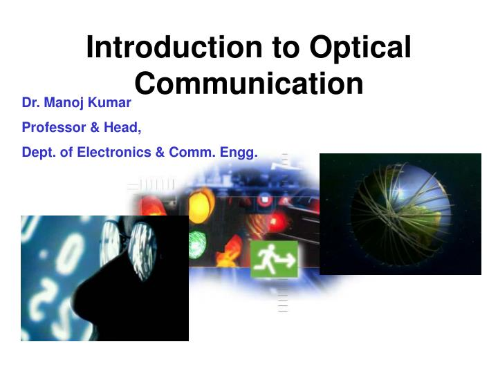introduction to optical communication n.