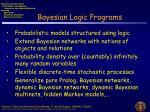 bayesian logic programs1