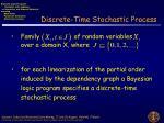 discrete time stochastic process
