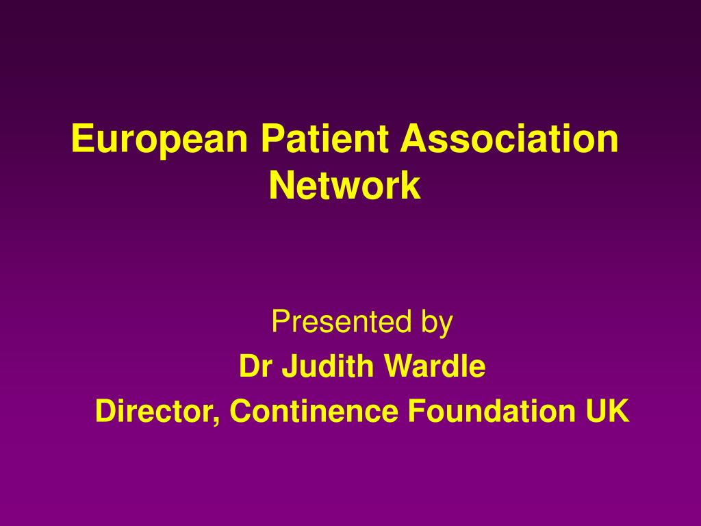 european patient association network l.