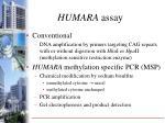 humara assay