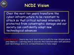 ncdi vision