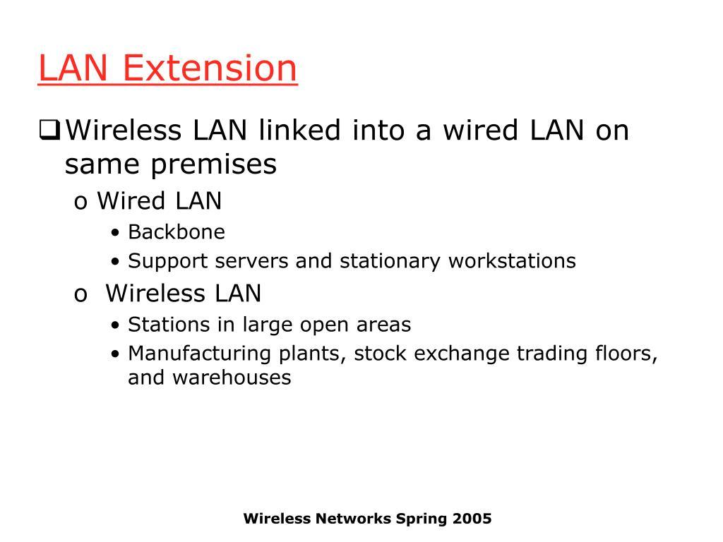 LAN Extension