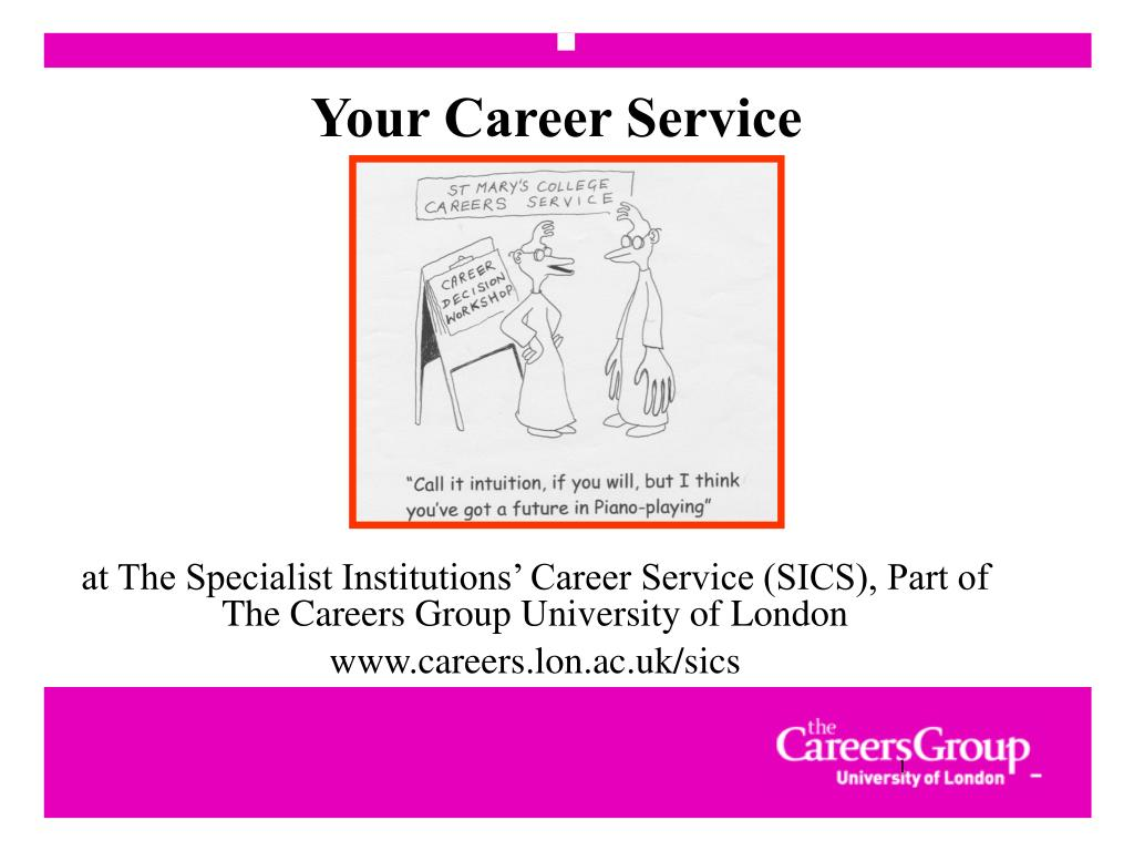 your career service l.