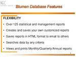 blumen database features9
