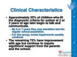 clinical characteristics5