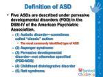 definition of asd7