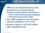 vme board standards