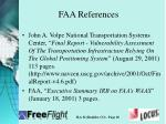 faa references