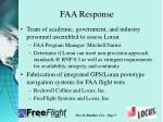 faa response
