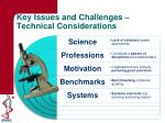 key issues and challenges technical considerations