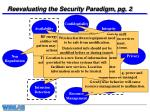 reevaluating the security paradigm pg 2