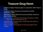 treasurer doug hamm
