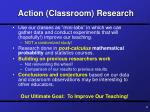 action classroom research