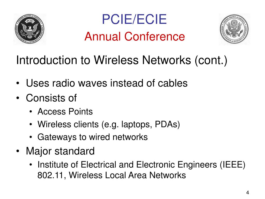 Introduction to Wireless Networks (cont.)