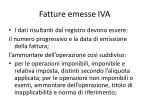 fatture emesse iva