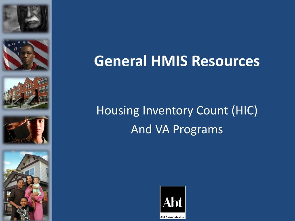 general hmis resources l.