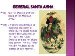 general santa anna