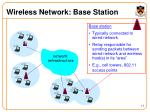 wireless network base station