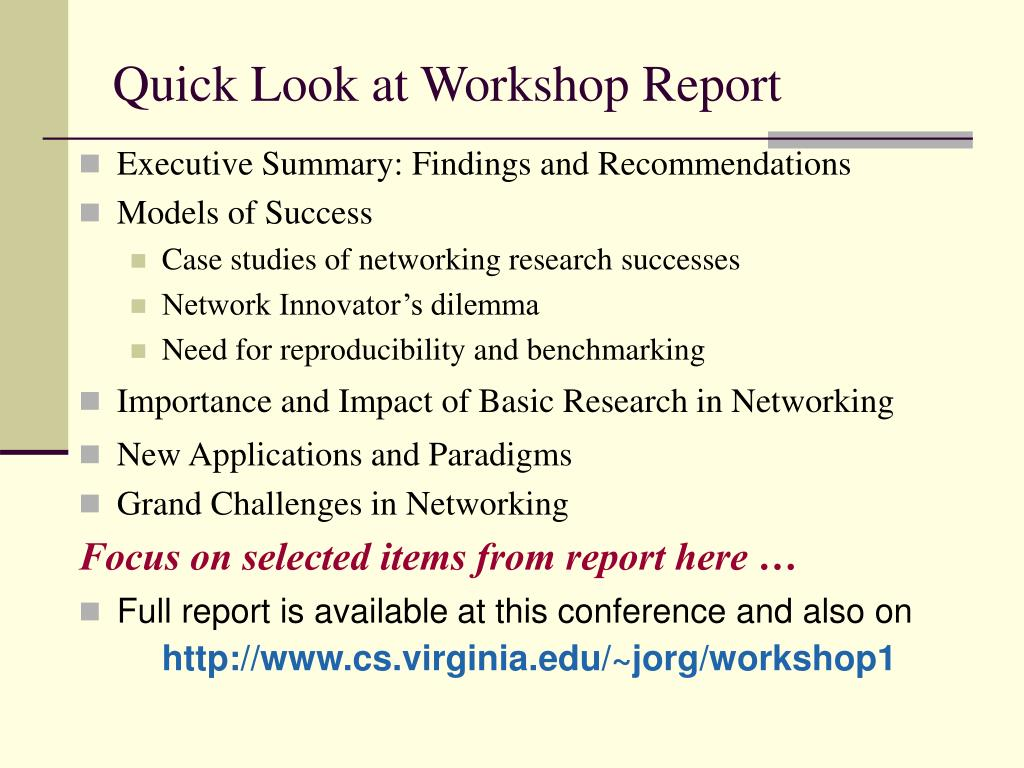Executive Summary: Findings and Recommendations