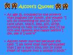 alcott s quotes