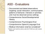 asd evaluations
