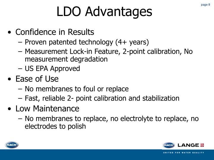 LDO Advantages