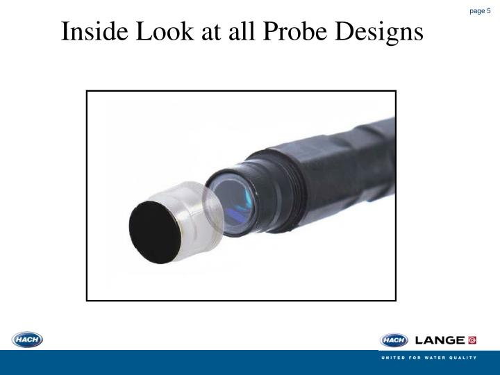 Inside Look at all Probe Designs