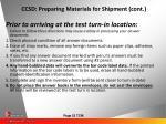 ccsd preparing materials for shipment cont37