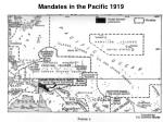 mandates in the pacific 1919